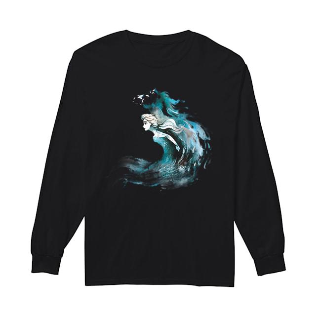 2019 Frozen 2 Elsa And The Nokk  Long Sleeved T-shirt