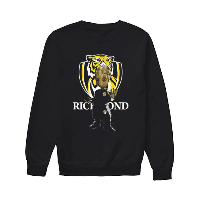 Baby Groot Richmond Football  Unisex Sweatshirt