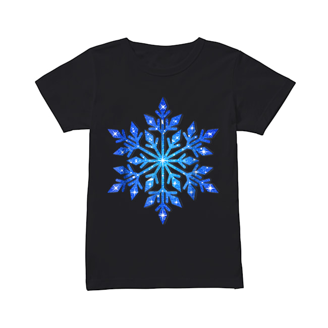 Beautiful Snowflake Winter Christmas Frozen Snow Gift  Classic Women's T-shirt