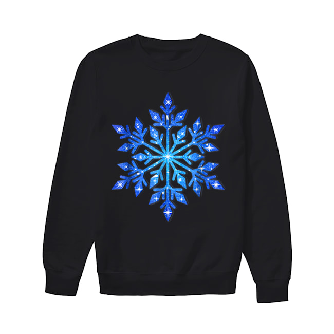 Beautiful Snowflake Winter Christmas Frozen Snow Gift  Unisex Sweatshirt