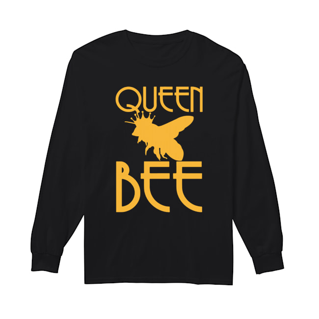 Beekeeping Queen Bee  Long Sleeved T-shirt