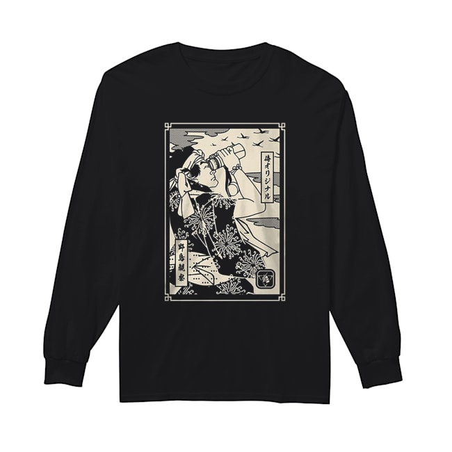 Birdwatching Samurai  Long Sleeved T-shirt