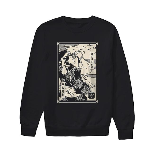 Birdwatching Samurai  Unisex Sweatshirt