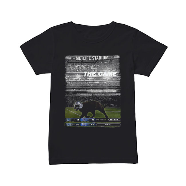 Black cat Metlife stadium player of the game Dallas Cowboys  Classic Women's T-shirt