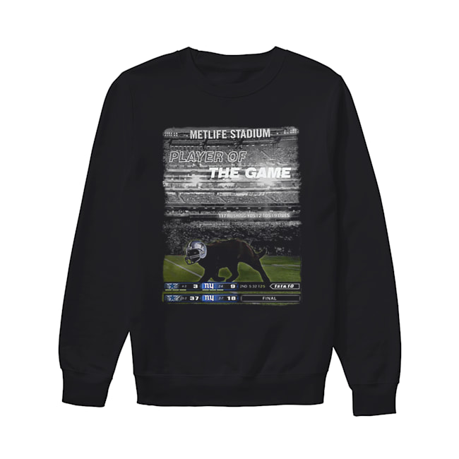 Black cat Metlife stadium player of the game Dallas Cowboys  Unisex Sweatshirt