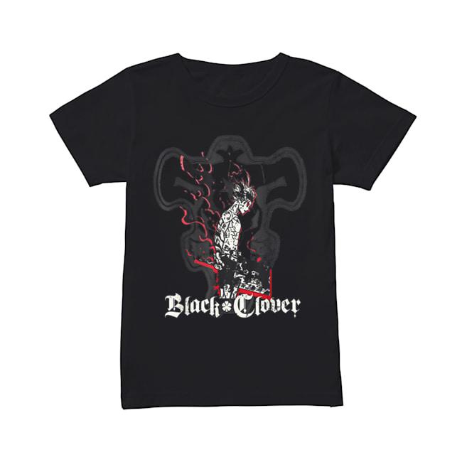 Black Clover Anime Asta Shadow  Classic Women's T-shirt
