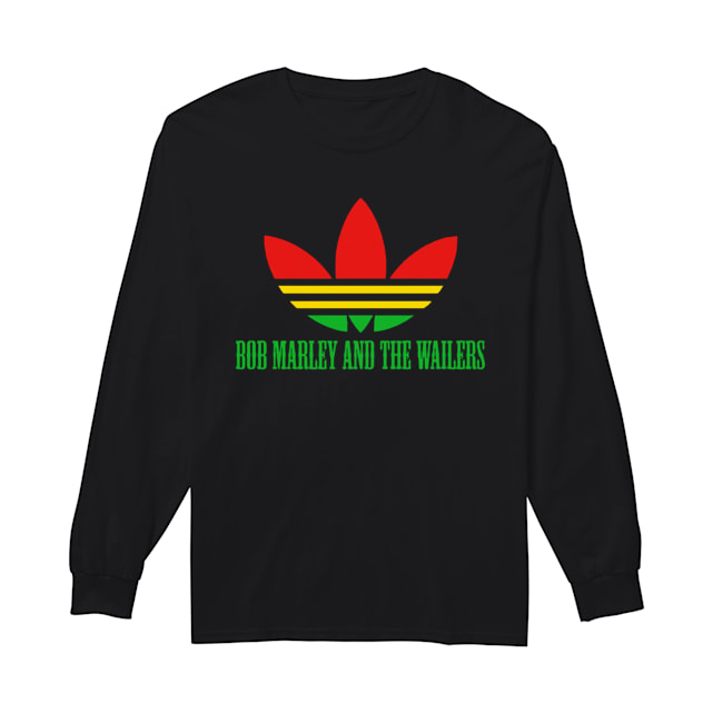 Bob Marley And The Wailers  Long Sleeved T-shirt