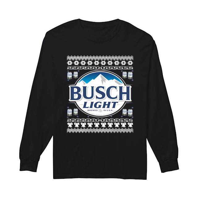 Busch Light Christmas Shirt, Hoodie, Sweatshirt And Long