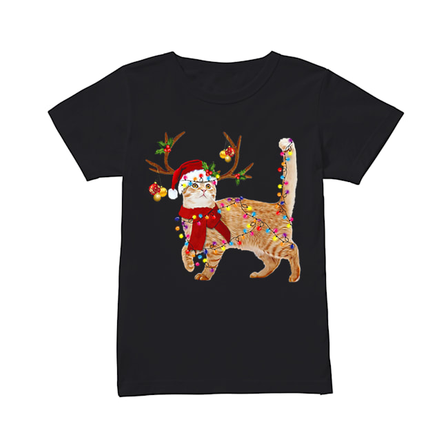Cat gorgeous reindeer Christmas  Classic Women's T-shirt
