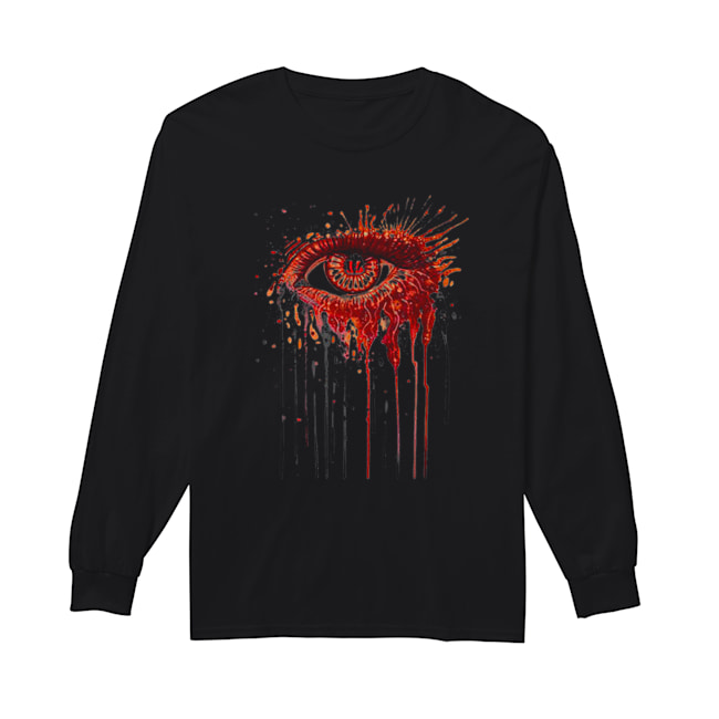 Cincinnati Bengals eyes art  Long Sleeved T-shirt