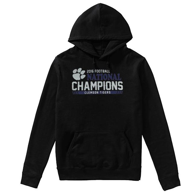 Clemson Tigers football 2016 National Champions  Unisex Hoodie