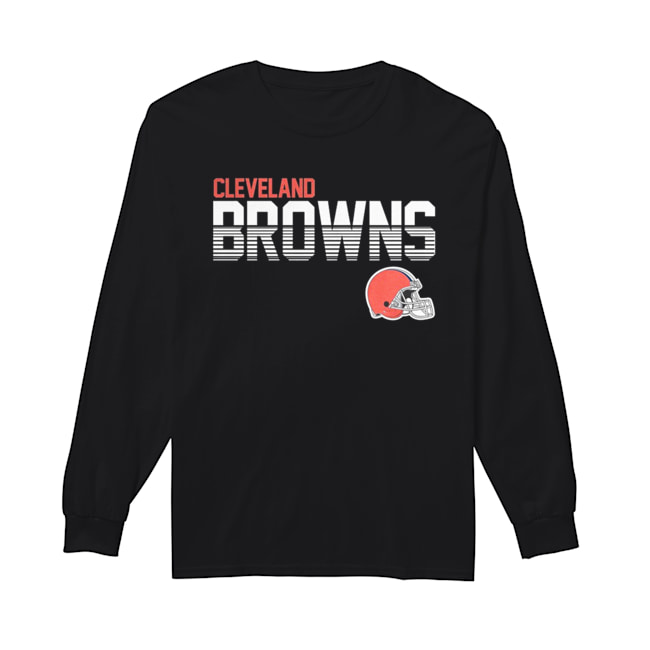 Cleveland Browns Club  Long Sleeved T-shirt
