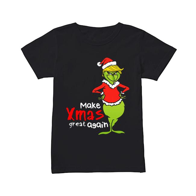 Donald Trump Grinch make xmas again christmas  Classic Women's T-shirt