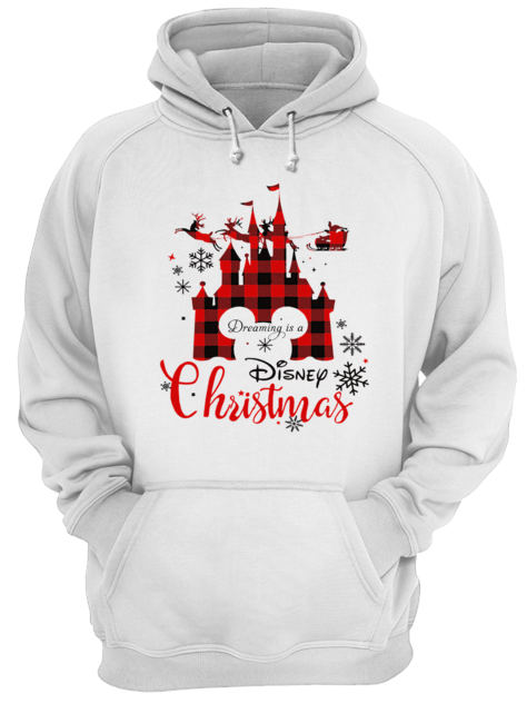 Dreaming is a Disney Christmas ugly christmas  Unisex Hoodie