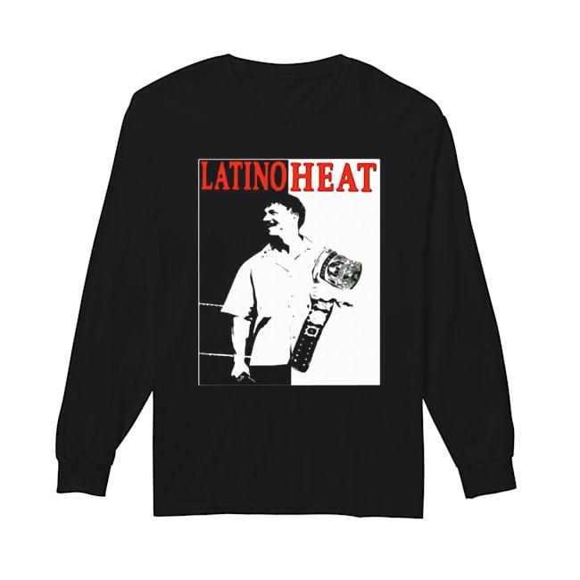 Eddie Guerrero Championship Belt Latino Heat WWE  Long Sleeved T-shirt