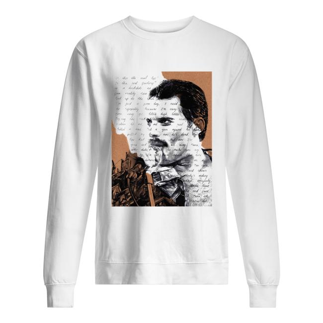 Freddie Mercury Is this the real life is this just fantasy  Unisex Sweatshirt