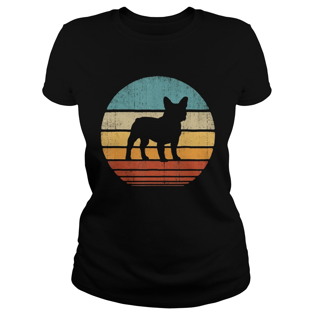 French Bulldog Vintage  Classic Ladies