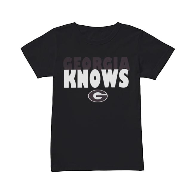 Georgia Bulldogs football Knows  Classic Women's T-shirt
