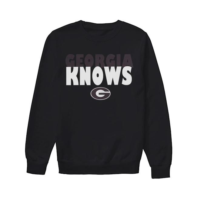Georgia Bulldogs football Knows  Unisex Sweatshirt