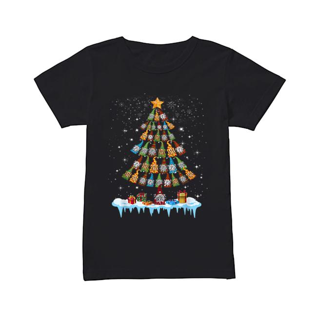 Gnome Garden Gardening Christmas Tree  Classic Women's T-shirt