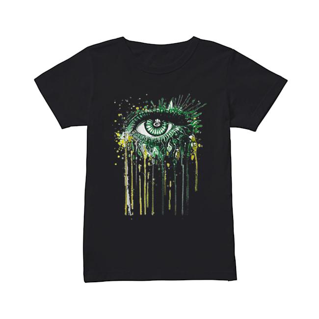 Green Bay Packers eyes art  Classic Women's T-shirt