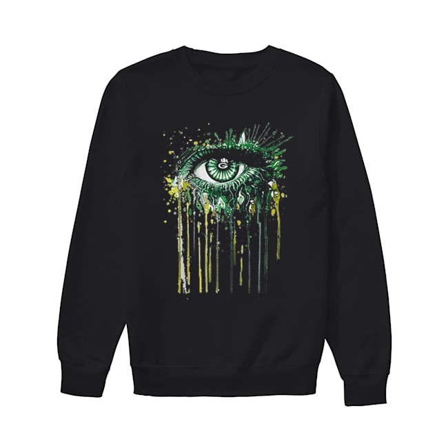 Green Bay Packers eyes art  Unisex Sweatshirt