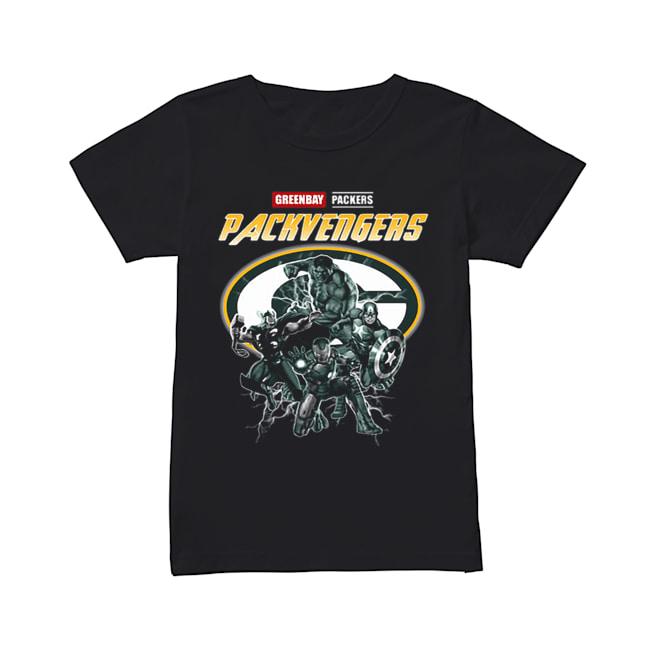 Greenbay Packers Packvengers Avengers Marvel  Classic Women's T-shirt