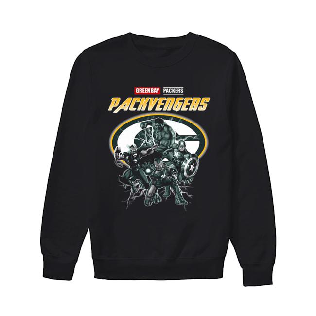 Greenbay Packers Packvengers Avengers Marvel  Unisex Sweatshirt