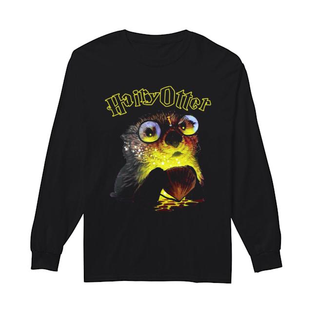 Hairy Otter Harry Potter  Long Sleeved T-shirt