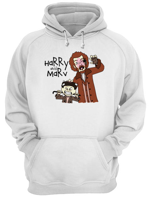 Harry and Marv Home alone Calvin and Hobbes  Unisex Hoodie