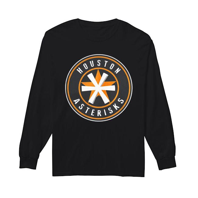 Houston Astros Asterisks  Long Sleeved T-shirt
