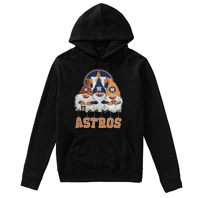 Houston Astros Just Hangin with My Gnomies  Unisex Hoodie