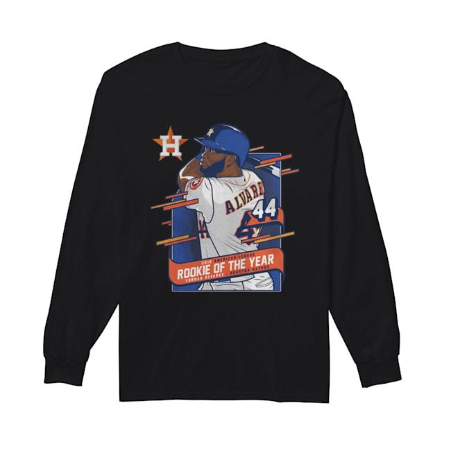 Houston Astros Yordan Alvarez 2019 AL Rookie of the Year  Long Sleeved T-shirt
