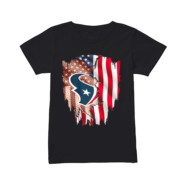 Houston Texans American flag  Classic Women's T-shirt