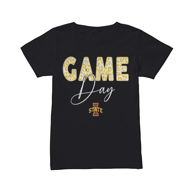 Iowa State Cyclones Game Day Leopard Team  Classic Women's T-shirt