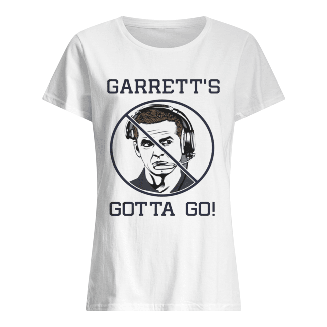 JASON GARRETT Gotta Go  Classic Women's T-shirt