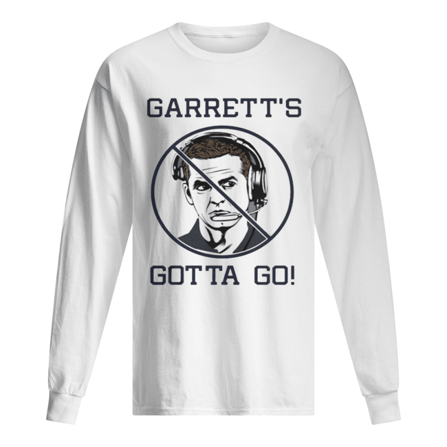 JASON GARRETT Gotta Go  Long Sleeved T-shirt