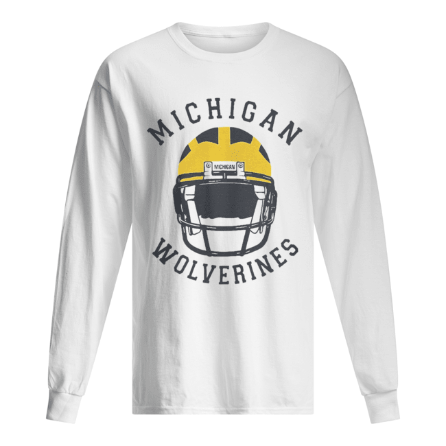 Michigan Wolverines football  Long Sleeved T-shirt