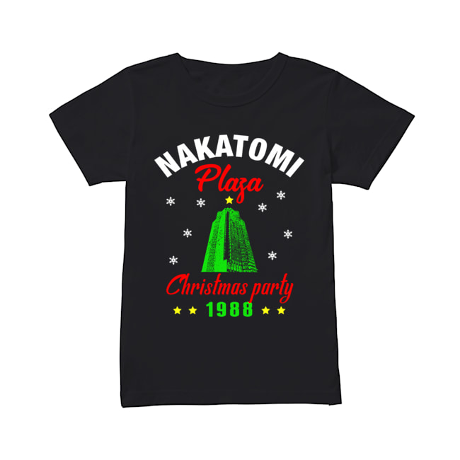 Nakatomi Plaza Christmas Party 1988 Ugly Christmas 2020  Classic Women's T-shirt