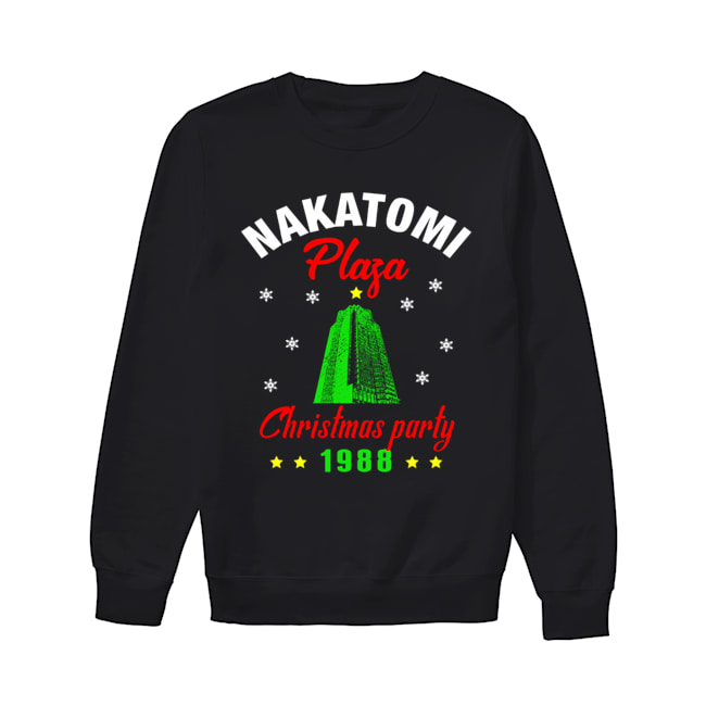 Nakatomi Plaza Christmas Party 1988 Ugly Christmas 2020  Unisex Sweatshirt