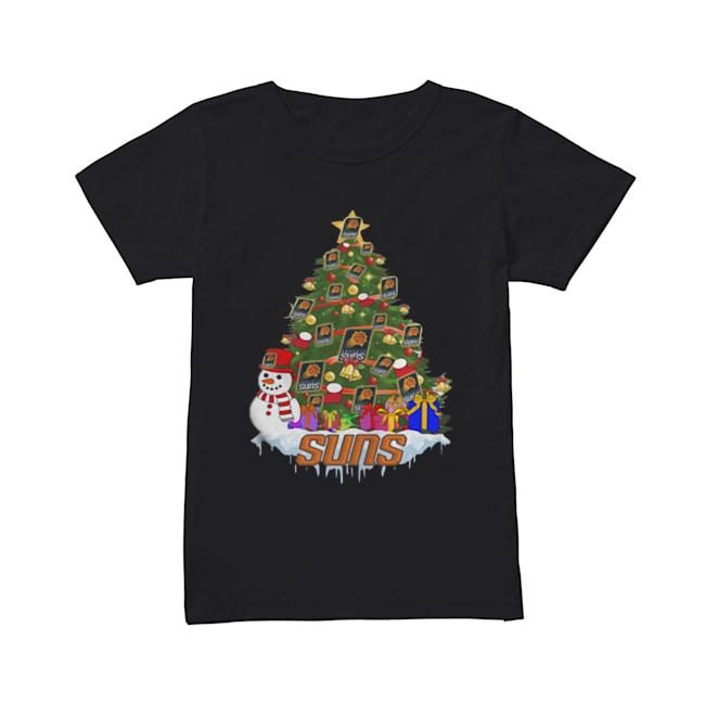 NBA Phoenix Suns Basketball Christmas Tree  Classic Women's T-shirt