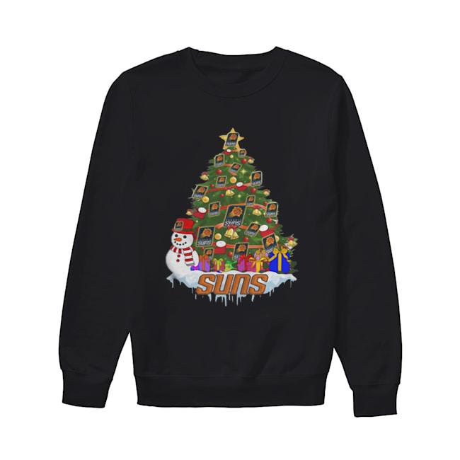 NBA Phoenix Suns Basketball Christmas Tree  Unisex Sweatshirt