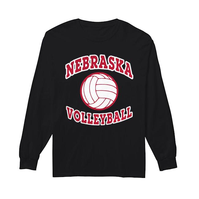 Nebraska Cornhuskers volleyball  Long Sleeved T-shirt