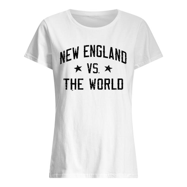 New England vs. The World Battlefield  Classic Women's T-shirt