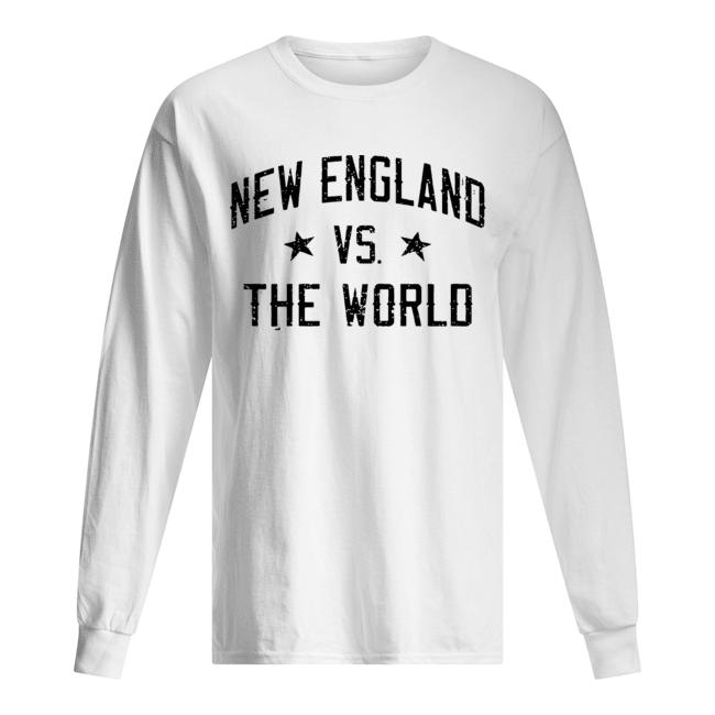 New England vs. The World Battlefield  Long Sleeved T-shirt