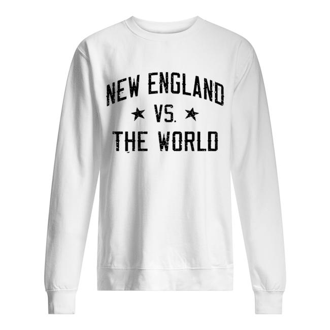 New England vs. The World Battlefield  Unisex Sweatshirt