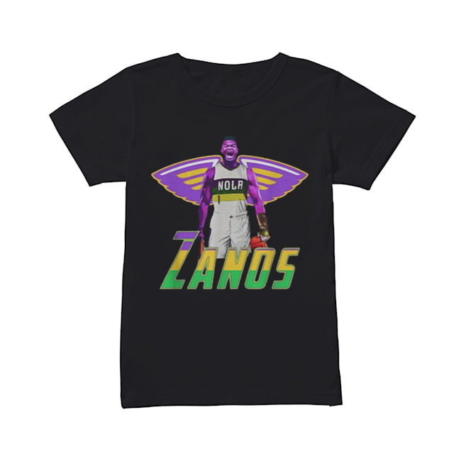 Nice Zanos Nola New Orleans Pelicans  Classic Women's T-shirt
