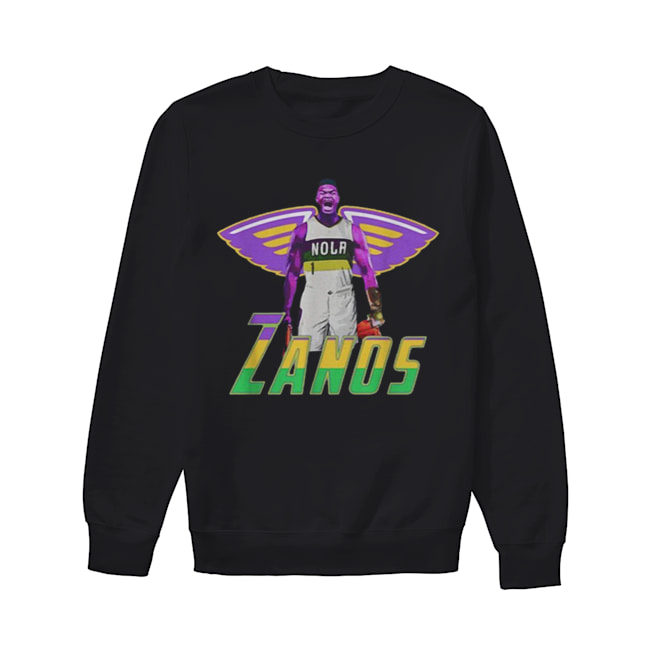 Nice Zanos Nola New Orleans Pelicans  Unisex Sweatshirt