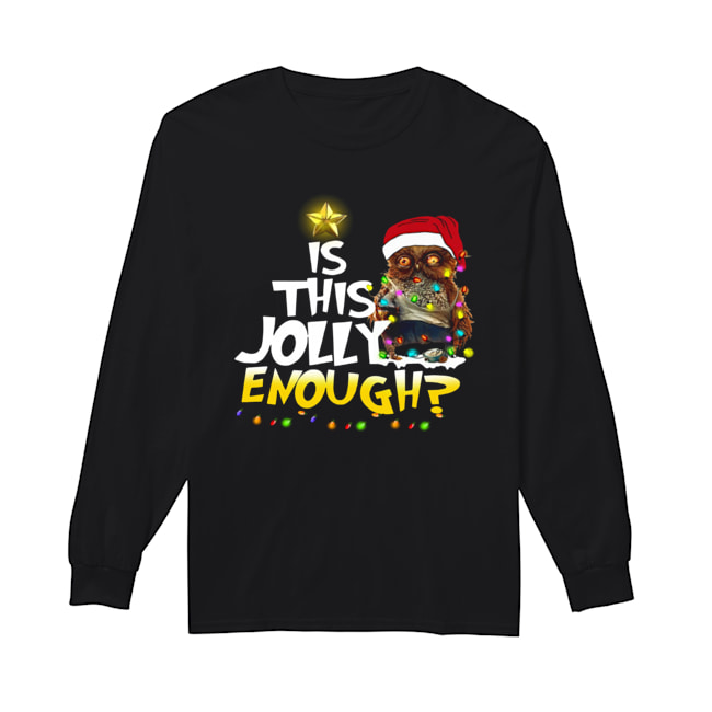 Owl Harry Potter is this Jolly Enough christmas  Long Sleeved T-shirt