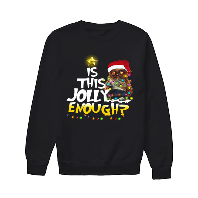 Owl Harry Potter is this Jolly Enough christmas  Unisex Sweatshirt